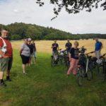 Familienkreis auf Radtour